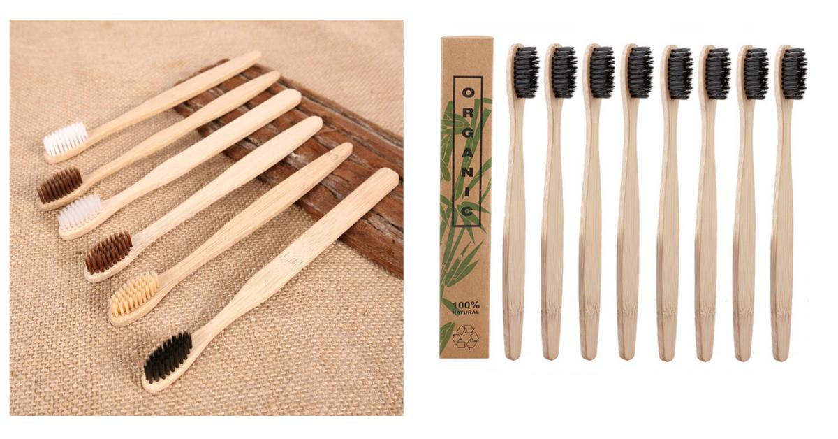 Бамбуковая щётка