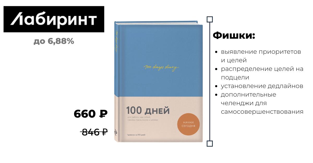 Ежедневник 100 дней эффективности